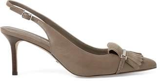 Ralph Lauren Leather Slingback Heel
