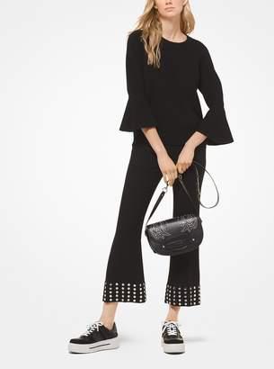 MICHAEL Michael Kors Wool Bell-Cuff Pullover
