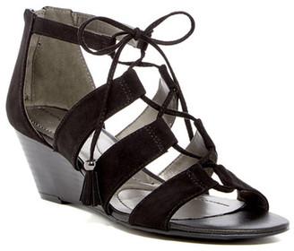 Bandolino Opiuma Wedge Sandal $59 thestylecure.com