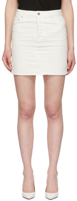 GRLFRND White Blaire Split Pencil Skirt