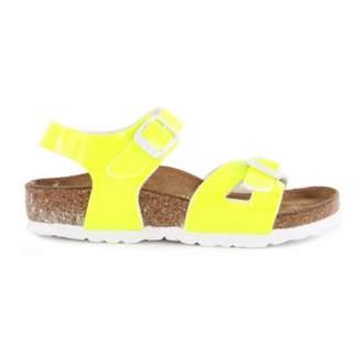 Birkenstock Sale - Patent Neon Rio Sandals