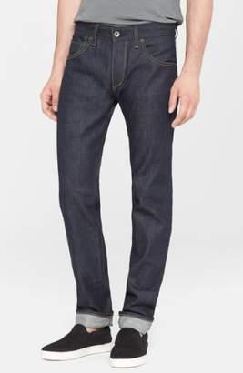 Rag & Bone Standard Issue Fit 2 Slim Fit Raw Selvedge Jeans