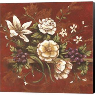 Jaipur Metaverse Blossoms II by Michael Brey Canvas Art