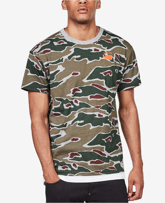 G Star Men's Sverre Camouflage T-Shirt, Created for Macy's