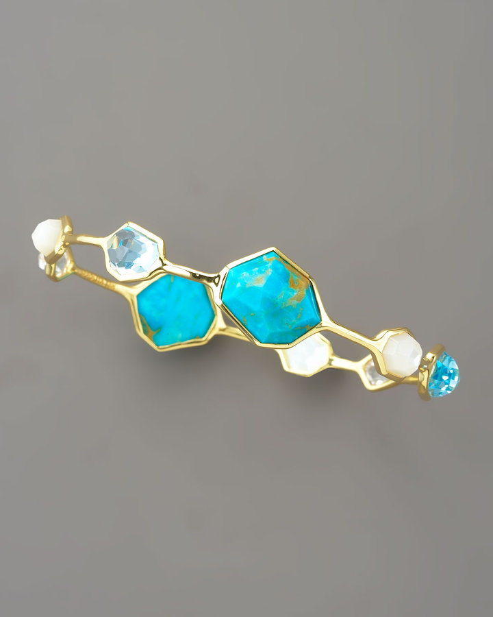 Ippolita Medium Multi-Stone Bangle, Ocean