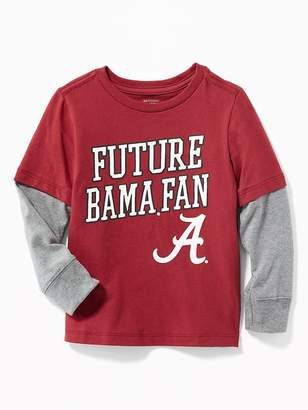 """Old Navy College-Team """"Future"""" Graphic 2-in-1 Tee for Toddler Boys"""
