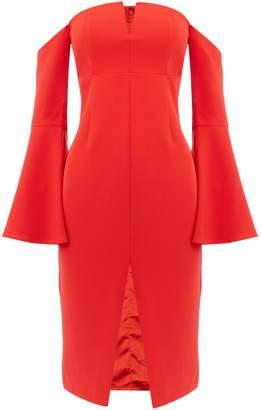 Bardot jasmine longsleeve split dress