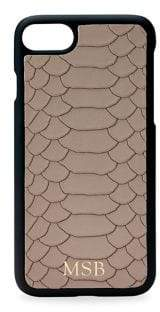 GiGi New York Embossed Leather iPhone 7 Case