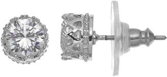 Lauren Conrad Crown Stud Earrings