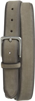 AllSaints Nubuck Leather Belt