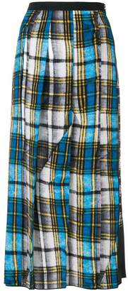 Marc Jacobs check midi skirt