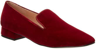 French Sole Edith Velvet Loafer