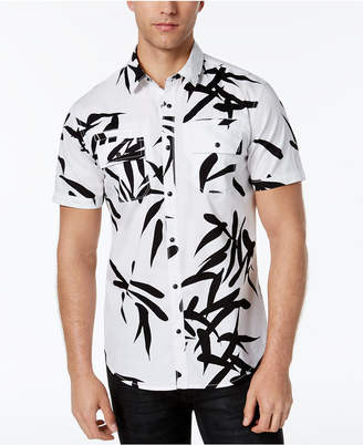 INC International Concepts I.n.c. Men's Geometric Print Shirt, Created for Macy's