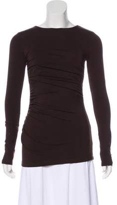 Susana Monaco Long Sleeve Stretch Top w/ Tags