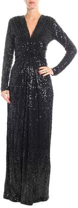 P.A.R.O.S.H. Sequin Embellished Long Dress