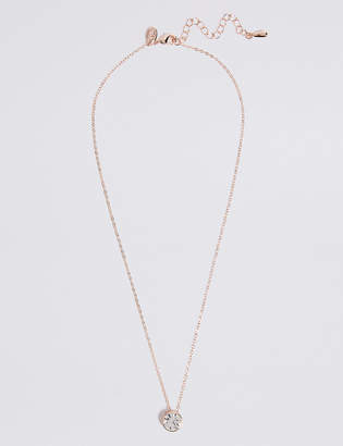 M&S Collection Stone Pendant Necklace