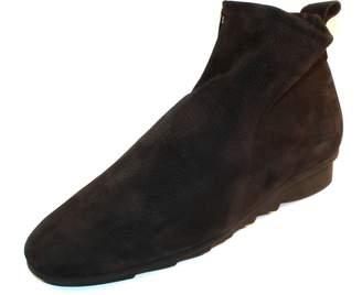 Arche Women's 'Bibiki' Tumbled Leather Bootie in '' (Black)