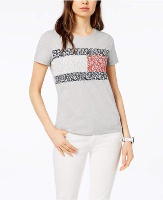 Tommy Hilfiger Logo-Print T-Shirt