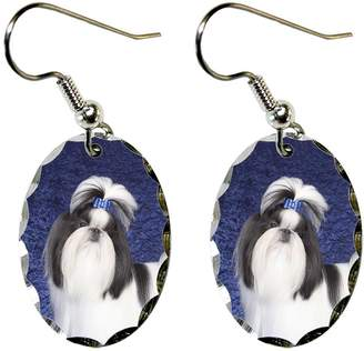 Shih Canine Designs Tzu Earrings
