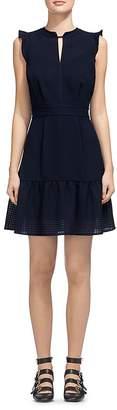 Whistles Raechelle Flutter Sleeve Dress $269 thestylecure.com