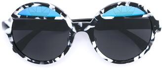 Italia Independent round framed sunglasses