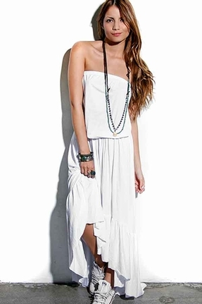 Blue Life Ibiza Dress in White