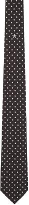 Givenchy Black & White Stars Tie $195 thestylecure.com