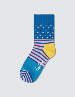 Happy Socks Kids Stripe & Dot Sock