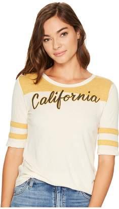 Lucky Brand California Football Tee Women's T Shirt