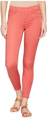 Liverpool Chloe Ankle Pull-On Leggings in Micro-Peached Twill in Bossa Nova Women's Casual Pants