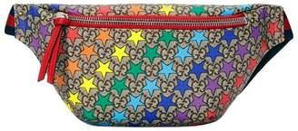 Gucci Kids Children's GG rainbow star belt bag
