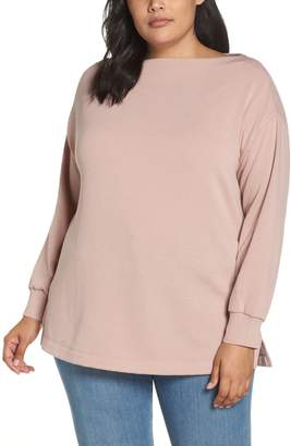 Caslon Off Duty Boat Neck Top