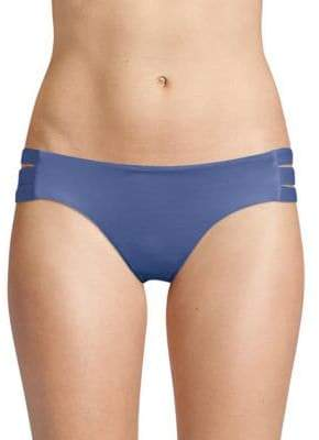 Vitamin A Emilia Three-Strap Bikini Bottoms