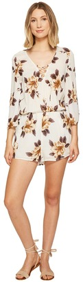 O'Neill - Neri Romper Women's Jumpsuit & Rompers One Piece $59.50 thestylecure.com