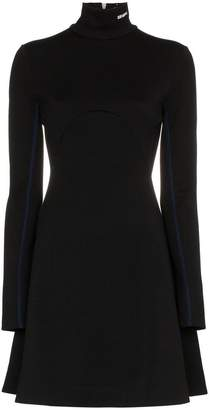 Calvin Klein skater style turtleneck dress