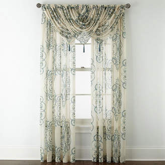 Royal Velvet Ardesia Rod-Pocket Sheer Curtain Panel