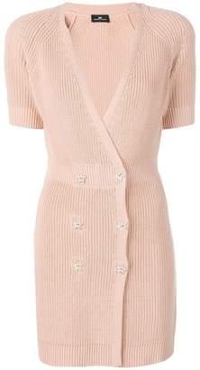 Elisabetta Franchi knitted mini dress