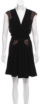 Balenciaga Belted Mini Dress w/ Tags
