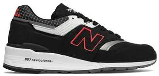 New Balance 997 Made in USA Nubuck Sneaker in Black