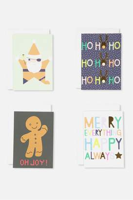 Cotton On Christmas Card 12Pk With Envelope1