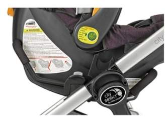 Baby Jogger Single City Select(R)/City Premier(R) Stroller to Chicco KeyFit 30 & Peg-Perego Primo Viaggio Car Seat Adapter