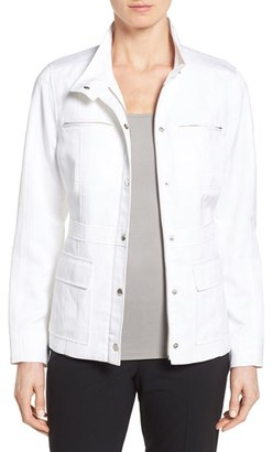 Nordstrom Collection Four Pocket Field Jacket $348 thestylecure.com