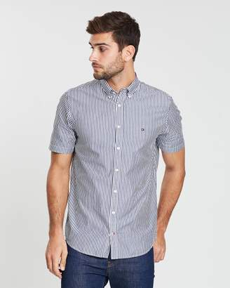 Tommy Hilfiger WCC Striped Poplin SS Shirt