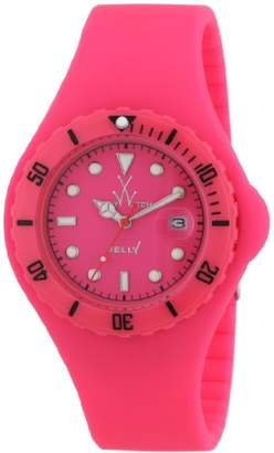 Toy Watch ToyWatch Unisex Quartz Watch with Black Dial Analogue Display Silicone JY04PS