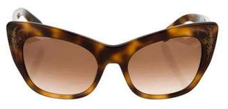 Zac Posen Cat-Eye Gradient Sunglasses