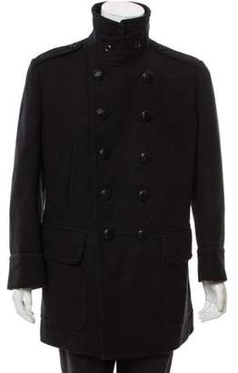 Tom Ford Double-Breasted Wool Peacoat