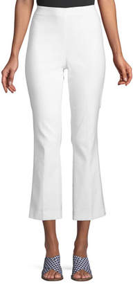 Rag & Bone Hina High-Waist Straight-Leg Cropped Pants