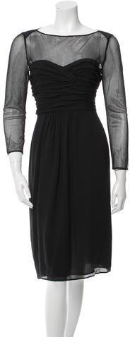 Burberry Burberry Silk Midi Dress