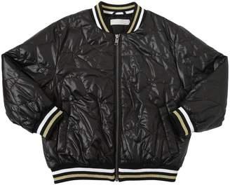 Stella McCartney Stars Quilted Nylon Bomber Jacket
