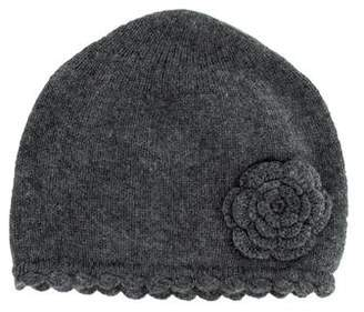 Baby CZ Girls' Cashmere Knit Hat